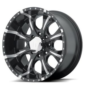17 Inch Black Wheels Rims Chevy Silverado 2500 3500 Hd Gmc Sierra Truck 8 Lug