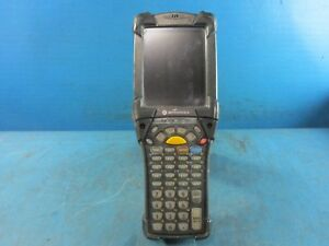 Symbol Motorola Mc9090 Wireless Barcode Scanner Pda Used No Battery