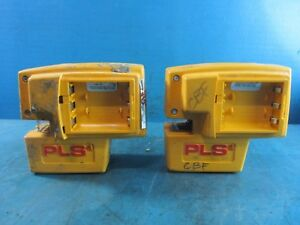Lot Of 2 Pacific Laser Systems Pls4 Tool Point And Line Laser Untested