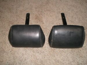 Bench Seat Headrests Chevelle Chevrolet Chevy Head Rests 1969 1970 1971 1972