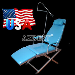 Dental Computer Controlled Unit Chair Hard Leather With Stool Tj2688 a1