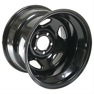 Cragar Black Steel V 5 Wheels 15 X10 5x4 5 Bc Set Of 2