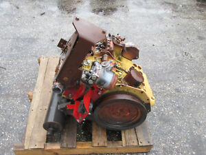 Caterpillar 3 Cyl Diesel Engine Complete Take Out Ferris Mower