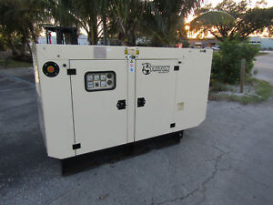 60 Kw Triton Generator John Deere Diesel 60hz Self Contained 3 Phase 53 Hrs