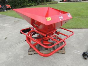 Lely Hr Fertilizer Spreader 3 Point Hitch Tractor