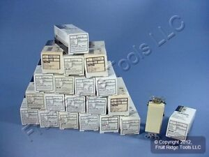 20 Leviton Decora Ivory Rocker Light Switches 20a 120 277v Single Pole 5621 2i