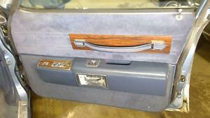80 90 Chevy Caprice Right Front Passenger Interior Door Panel