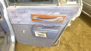 80 90 Chevy Caprice Wagon Right Rear Interior Door Trim Panel