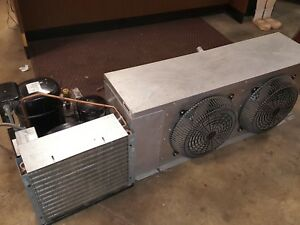 Parts evaporator Condenser Walk in Cooler Refrigeration Used 6 X 8 Or 8 X 8