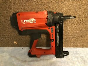 Hilti Gx2 Battery Gas Actuated Fastening Tool W One Battery no Charger