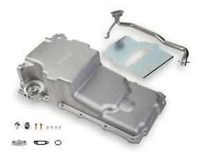 Holley Oil Pan Engine Swap Aluminum Natural 5 3 4 Quarts Chevy 4 8 5 3 6 0l Each