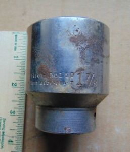Vintage 1997 Wright Tools Usa 3 4 Drive 12 Point 1 7 8 Shallow Socket 6160