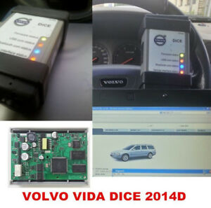 2017 Newest Vida Dice 2014d For Volvo Full Chip Scanner Obd2 Diagnostic Tool New