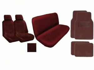 A Set Of 2 Universal Fit Low Back Encore Pattern Front Bucket Seat Cover A