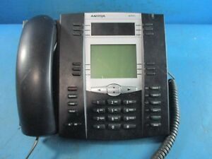 Lot Of 9 Aastra 6755i Business 4 Line Ip Voip Phone With Handsets Used