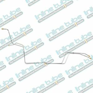 1994 97 Chevrolet S10 Gmc S15 4 3l 2wd Transmission Cooler Lines Trans Stainless