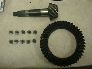 Ring And Pinion Dana 44 Front 4 09 Ratio High Pinion Ford Reverse Rotation