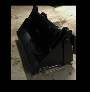 Mtl Attachments 42 Toro Dingo vermeer 4 In 1 Hydraulic Bucket Mini Skid Steer