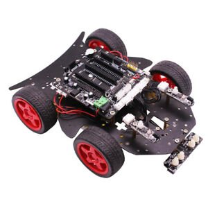 Yahboom 4wd Wireless Smart Robot Car Diy Kit Uno R3 Controller For Arduino