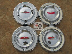 1962 1962 Oldsmobile Starfire Jet Fire 88 Super 88 poverty Dog Dish Hubcaps