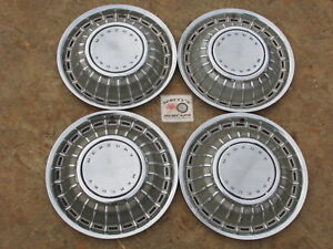 1966 Mercury Montclair Monterey Park Lane 15 Wheel Covers Hubcaps Set Of 4