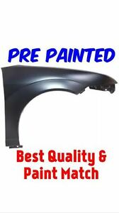 New Pre Painted Passenger Rh Fender For 2005 2007 Ford Focus W Free Touch Up