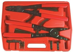 Astro Pneumatic 9402 16 2 Piece Large Snap Ring Pliers Set