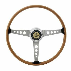 1967 Shelby Steering Wheel 1968 1973 Mustang W Tri bar Horn Button
