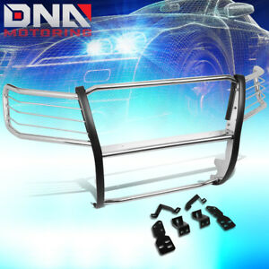 For 2007 2014 Chevy Suburban tahoe Stainless Front Bumper Grille Brush Guard