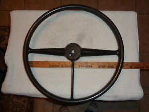 Vintage Gm Chevy 3 Spoke Steering Wheel Fits Nos New