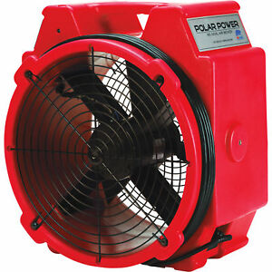 B air Axial Air Mover 1 4 Hp 3320 Cfm Red Model pb 25 Red
