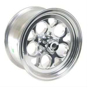 Ultra Wheel Drag Thrust 15x8 5x4 1 2 Alum 1 Piece Polished Each Wheel 561 5866p