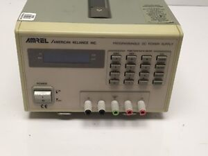 Amrel Pps35 3r 0 35 vdc 3 amps Programmable Dc Power Supply W Hpib Tested