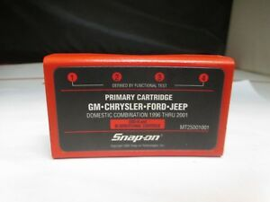 Snap on Mt2500 Scanner Primary Cartridge Gm Chrysler Ford Obd ii 96 01 Domestic