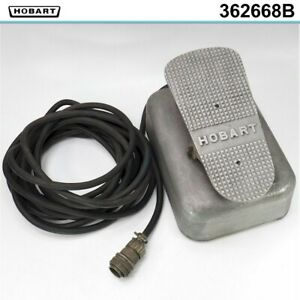 Hobart Welding Rheostat Amper Control Foot Pedal For Tig Welder 10 Pin Cable