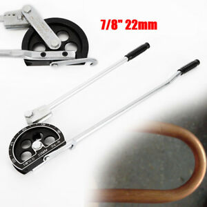 7 8 22mm Tube Bender 180 For Plumbing Gas Refrigeration Copper Alu Pipe