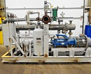 Mo 2527 Graham Ejector Liquid Ring Vacuum Pump Condenser Separation System