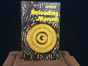 SPEER RELOADING MANUAL NUMBER 11 FOR RIFLE AND PISTOL AUGUST 1987