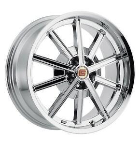 2005 2019 Mustang Shelby Cs67 Chrome 5 Lug Wheel Set Front 20x9