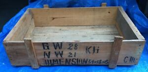 Ch0042 Hardwood Wooden Shipping Crate Case Box Vancouver Bc
