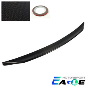 100 Real Carbon Fiber Rear Trunk Spoiler For 2008 2015 Mitsubishi Lancer Evo 10