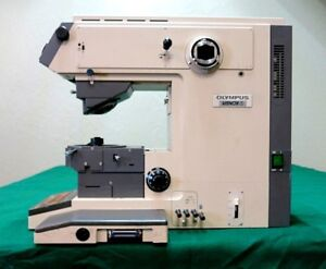 Olympus Vanox s Research Photomicrographic Microscope System As Is parts Only