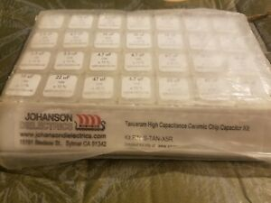 Johanson Tanceram High Capacitance Ceramic Chip Capacitor Kit P n S tan x5r