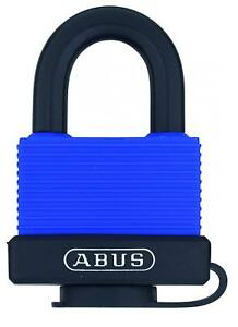 Abus 70 45 All Weather Solid Brass Blue Padlock Keyed Different