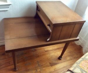 American Of Martinsville End Table Side Table Nightstand Mid Century Modern Vtg