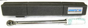 Armstrong 3 8 Torque Wrench With Case 64 042 100 1000 In Lbs 5120 01 430 8556