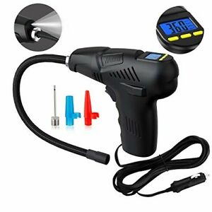 Tyre Inflator Portable Air Compressor Pump 12v For Car Motorcycle And Bike