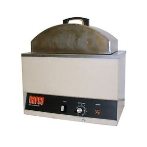 Napco 210a Stainless Steel Bench top Laboratory Heated Water Bath W cover Lid