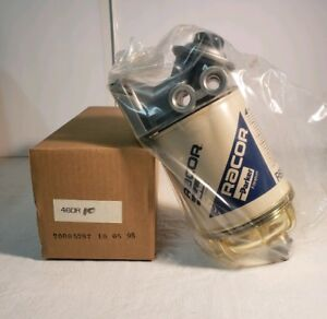 Racor Fuel Filter W Water Separator Head R60t Genuine Racor 400r Spin On