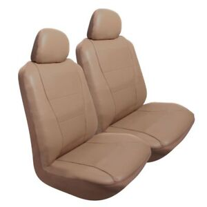 Pilot Automotive Sc 450t 2 Pk Perforated Leather like Seat Cover